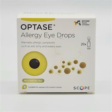 Allergy Eye Drops - Red, Itchy and Watery Eyes - Suitable for wearers of Contact Lenses and Children