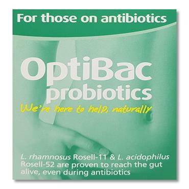 Optibac Probiotics For Those On Antibiotics 10 Pack