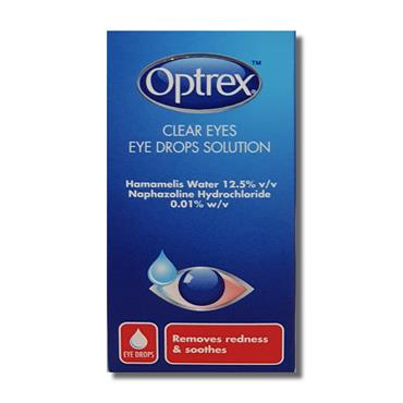 Optrex Eye Drops Clear Eyes 10Ml