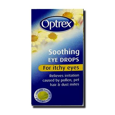 Optrex Eye Drops Itchy Eyes 10Ml