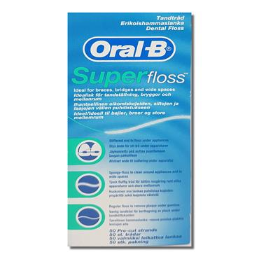 Oral B Super Floss Strands 1S