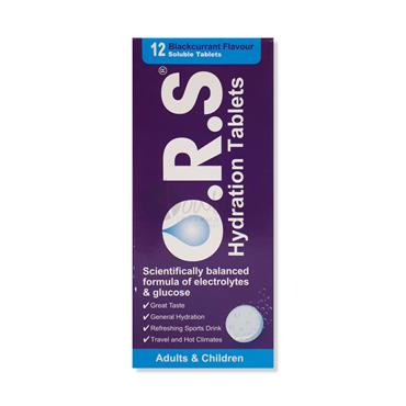 Oral Rehydration Salts Blackcurrant Flavour