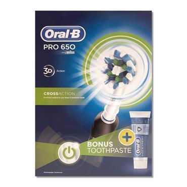 Oral B Toothbrush Pro 650