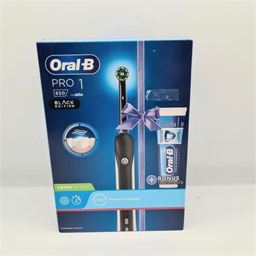 Oral B Pro 1 Black Edition Toothbrush