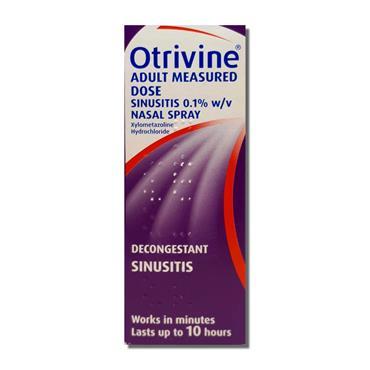 Otrivine Adult Measured Dose Nasal Spray 10ml