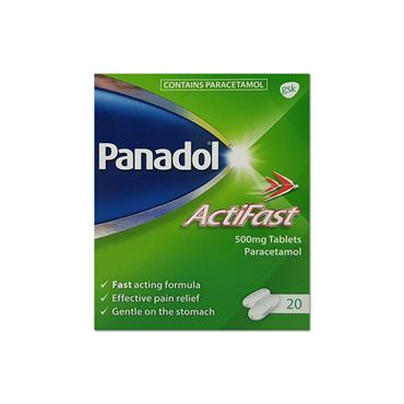 Panadol Actifast Tablets Def 12