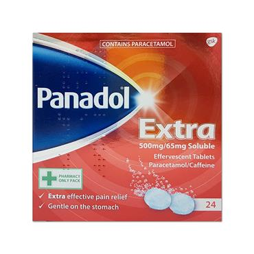 Panadol Extra Soluble 24 Pack