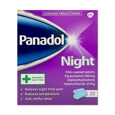 Panadol Night 20 Tablets