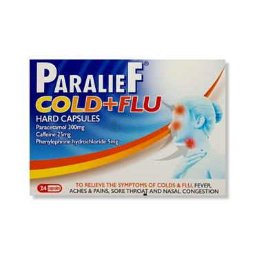 Paralief Cold & Flu Capsules 24