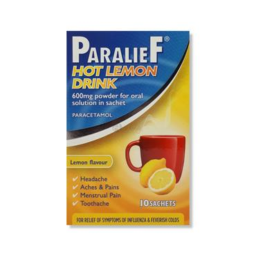 Paralief Hot Lemon Drink Paracetamol