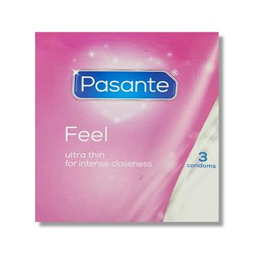 Pasante Feel 3S Condoms
