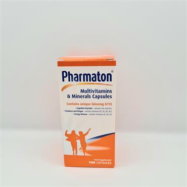 Pharmaton Multivitamins 100 Capsules