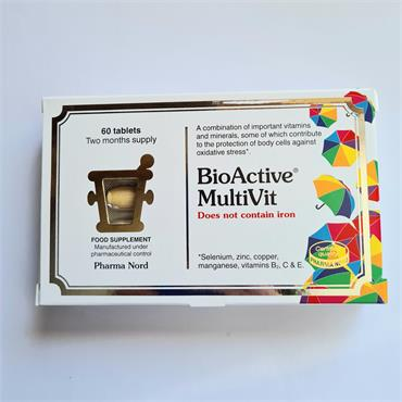 Pharma Nord Bio Active MultiVit (No Iron)- 60 Tablets