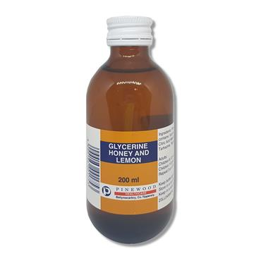 Pinewood Glycerine Honey N Lemon Syrup 200Ml