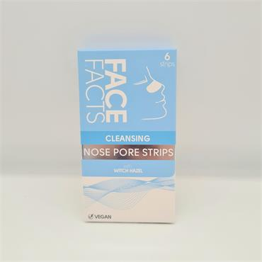 Face Facts Nose Pore Strips - 6 Pack