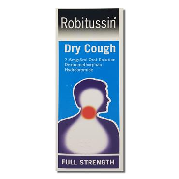 Robitussin Dry Cough Adult 100Ml Robins
