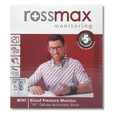 Rossmax Wrist Blood Pressure Monitor