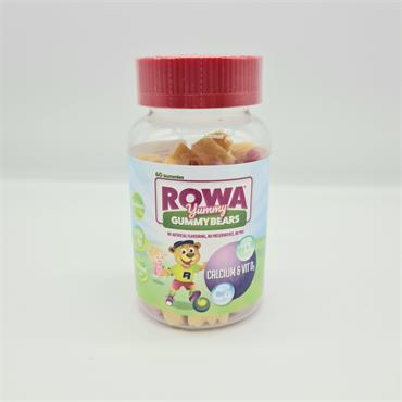 Rowa Yummy Gummy Bears - Calcium & Vit D3
