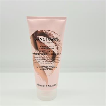 Sanctuary Spa Body Wet Skin Moisture Miracle  - White Lily & Demask Rose