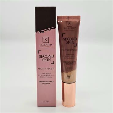 Sculpted Second Skin - Matte Finish - Tan 5.0 - SPF50 - 32ML
