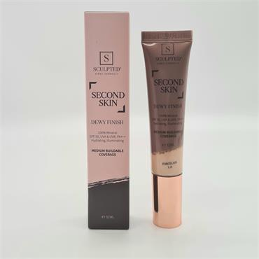 Sculpted Second Skin - Dewy Finish - Porcelain 1.0 - SPF50 - 32ML