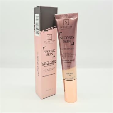 Sculpted Second Skin - Matte Finish - Tan Plus 5.5 - SPF50 - 32ML