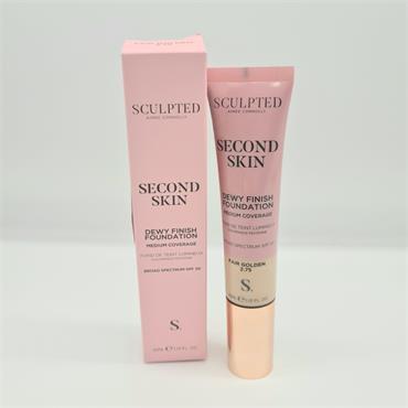 Sculpted Second Skin - Dewy Finish - 2.75 Fair Golden SPF50