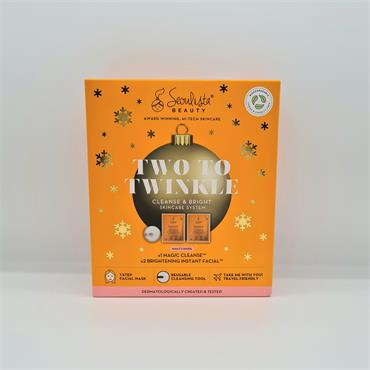 Seoulista Beauty Two to Twinkle - 2 Brightening Face Masks -1 Magic Cleanse