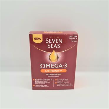 Seven Seas Omega 3 & Immunity 30