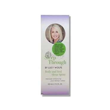 Sleep Through by Lucy Wolfe -  Body and Bed Spray
