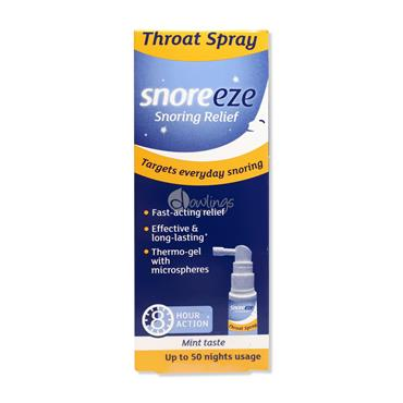 Snoreeze - Snoring Relief Throat Spray