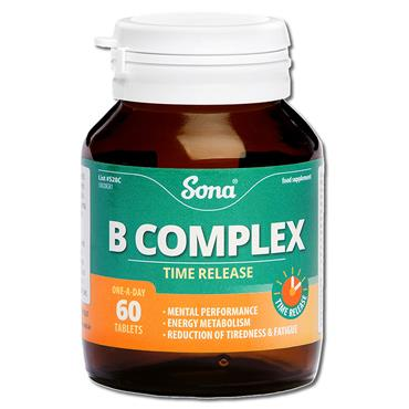 Sona B Complex Tablets 60 Pack