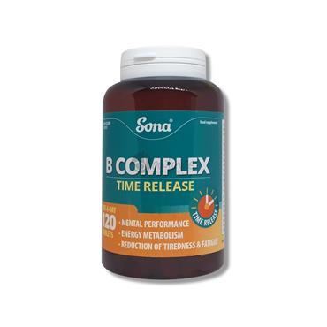 Sona Vitamin B Complex 120 Capsules