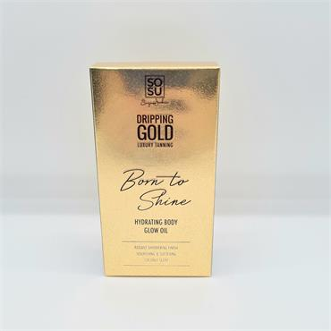 Sosu Dripping Gold Born To Shine Hydrating Body Glow OIl