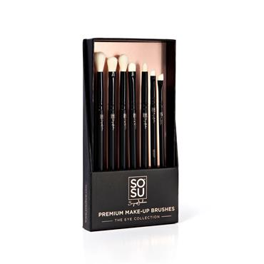 SOSU Premium Make-Up Brushes - The Eye Collection