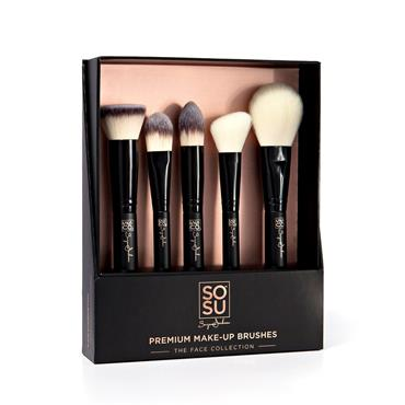 SOSU Premium Make-Up Brushes - The Face Collection