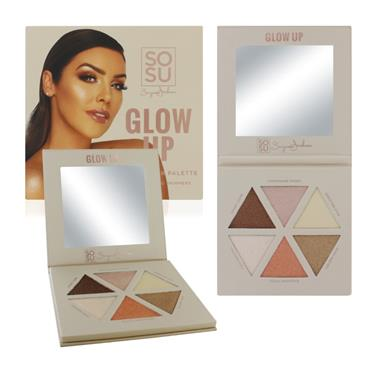 Glow Up Palette - Highlighting - 6 Shades