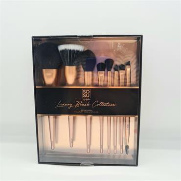 Sosu Luxury Brush Collection - 8 Pce