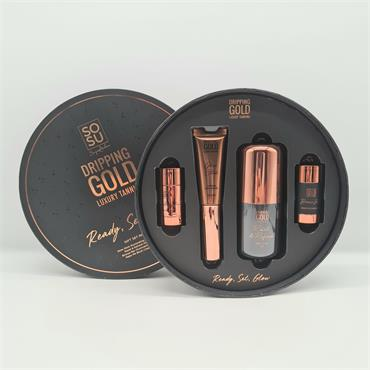 Sosu Dripping Gold Luxury Tanning Ready, Set, Glow Gift Set