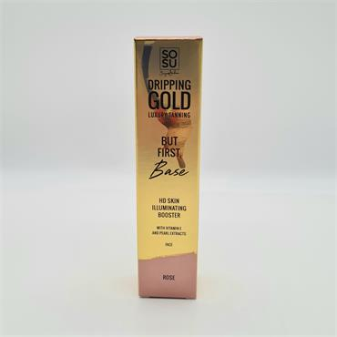 Dripping Gold But First Base Rose 30ml