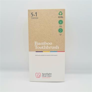 Spolight Bamboo Brush - 5 Pack