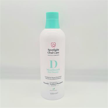 Spotlight D Mouthwash for Decay 500ml