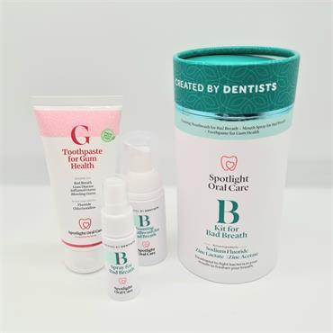Spotlight B Kit For Bad Breath