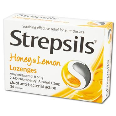 Strepsils Honey N Lemon Lozenge 24 Pack G