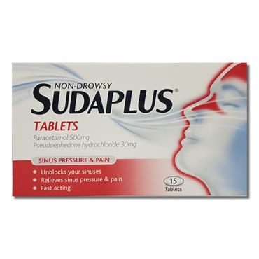 Sudaplus Non Drowsy Tabs