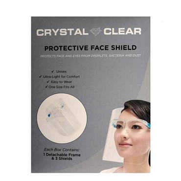 Crystal Clear Face Shield