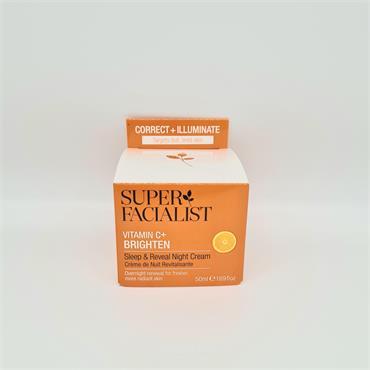 Super Facialist Vitamin C+ Brighten Sleep & Reveal NIght Cream