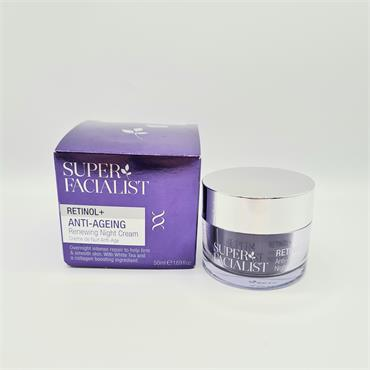 Super Ficialist Retinol + Anti-Ageing Renewing Night Cream - 50ml