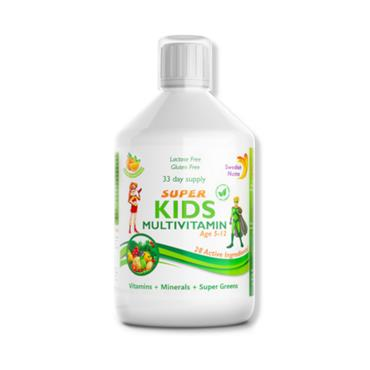 Swedish Nutra Super Kids Multivitamin (Age 5 - 12)