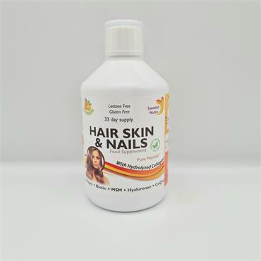 Swedish Nutra Hair Skin & Nails - 500ml